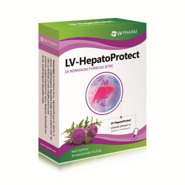 LV-HepatoProtect preparat za obnavljanje jetre